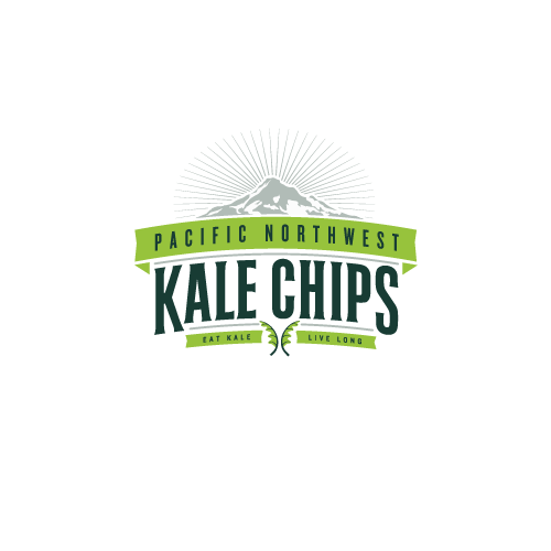 Kale Chips Logo Design