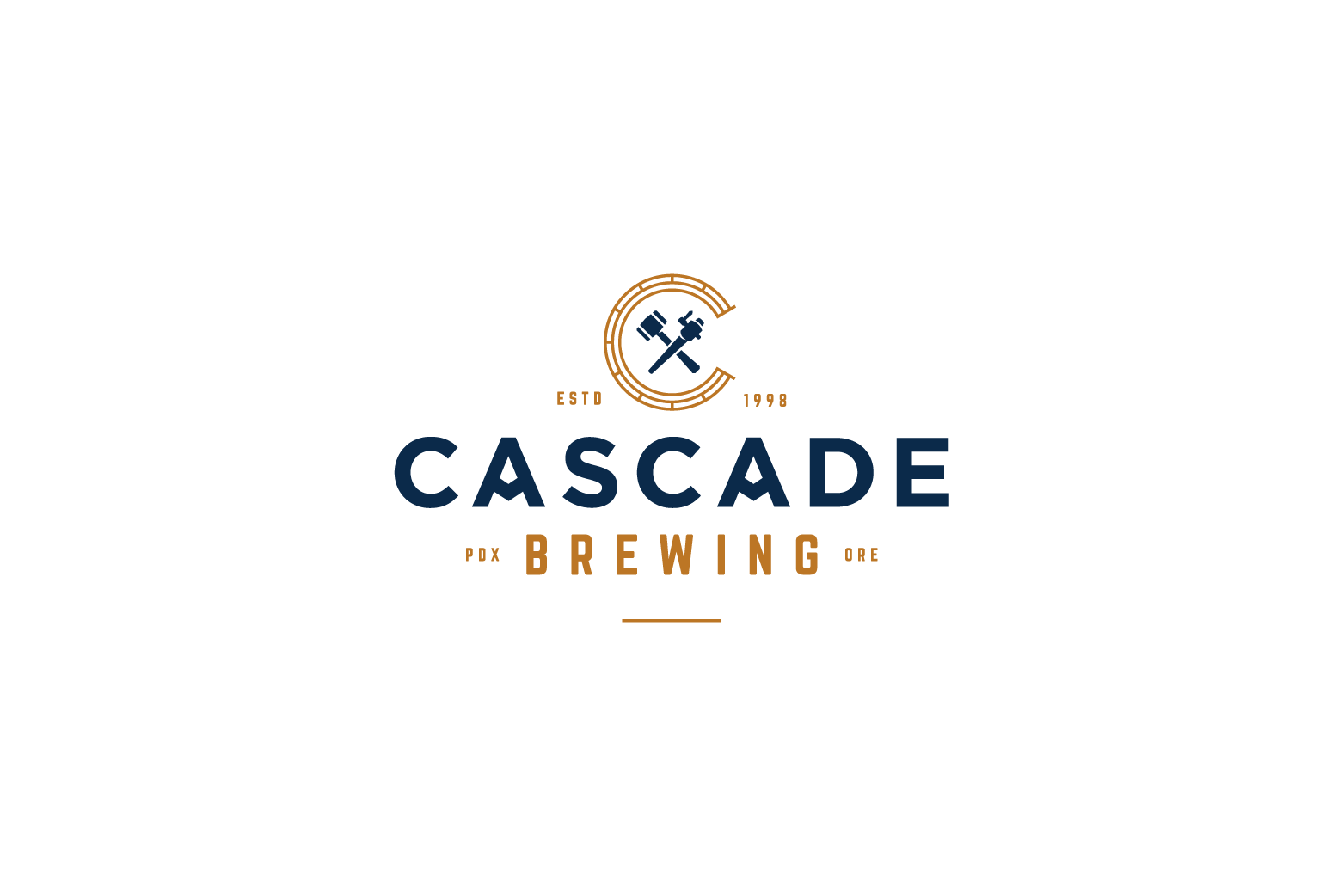 Cascade Brewing Logo Design