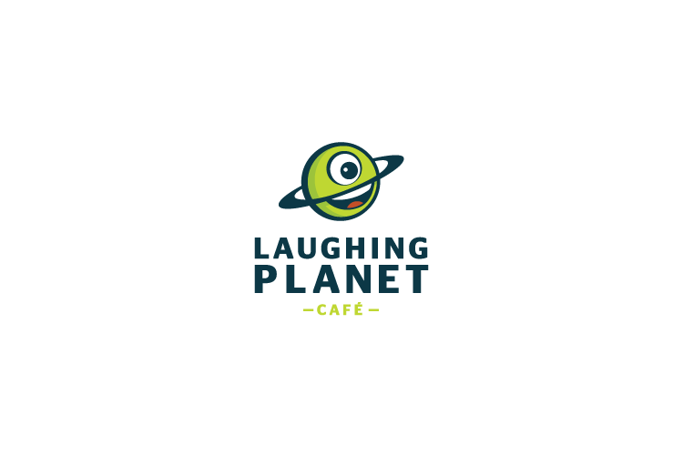 Laughing Planet logo design