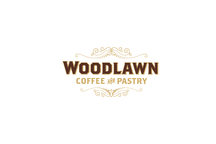 Woodlawn Coffee logo design