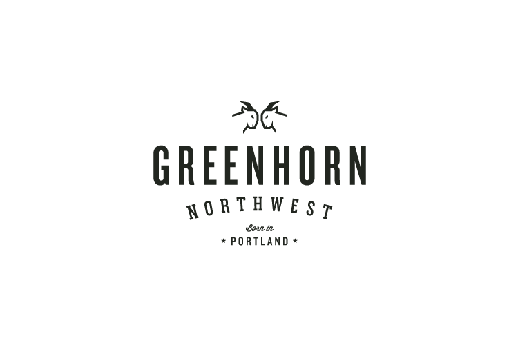 Greenhorn NW logo design