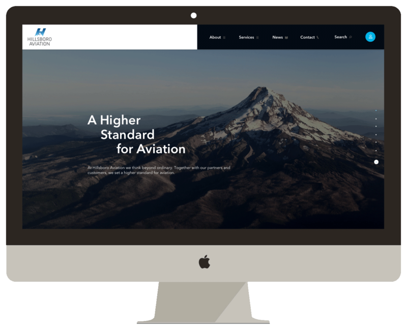 Hillsboro Aviation Web Design