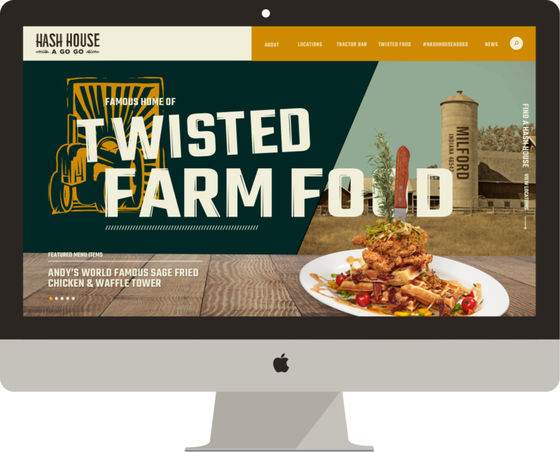 Hash House A Go Go Website Design